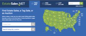 estate sales.net